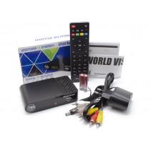 Цифровий приймач (ресівер)  DVB-T2 World Vision T65
